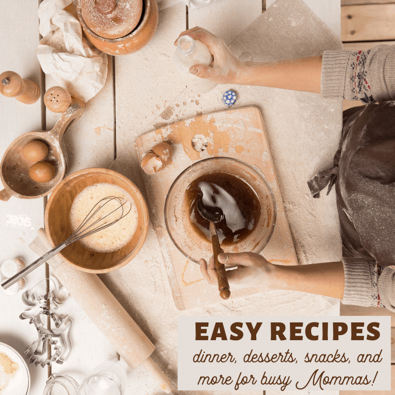 simple recipes for busy moms and kid friendly meals