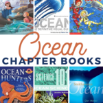 grab some of these ocean themed chapter books for kids