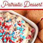 4th of July Cookie Dough Dip