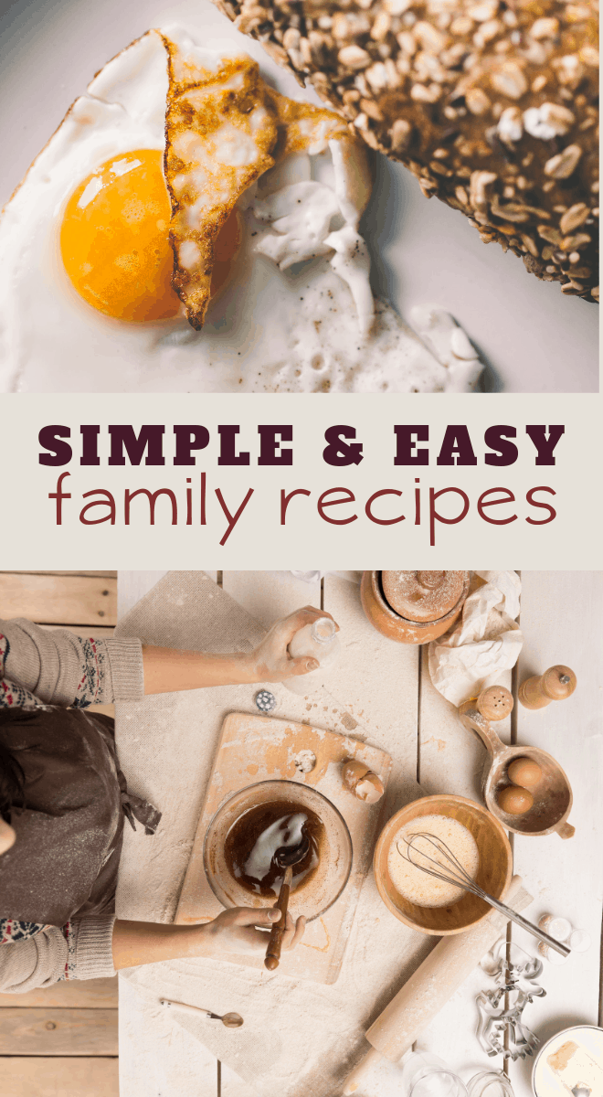 easy recipes of dinner desserts snacks and more for busy mommas