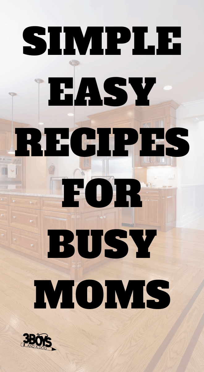 simple and easy family recipes