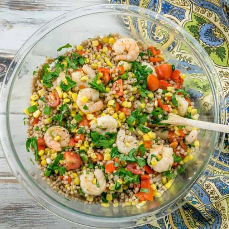 Shrimp and Vegetable Couscous Salad