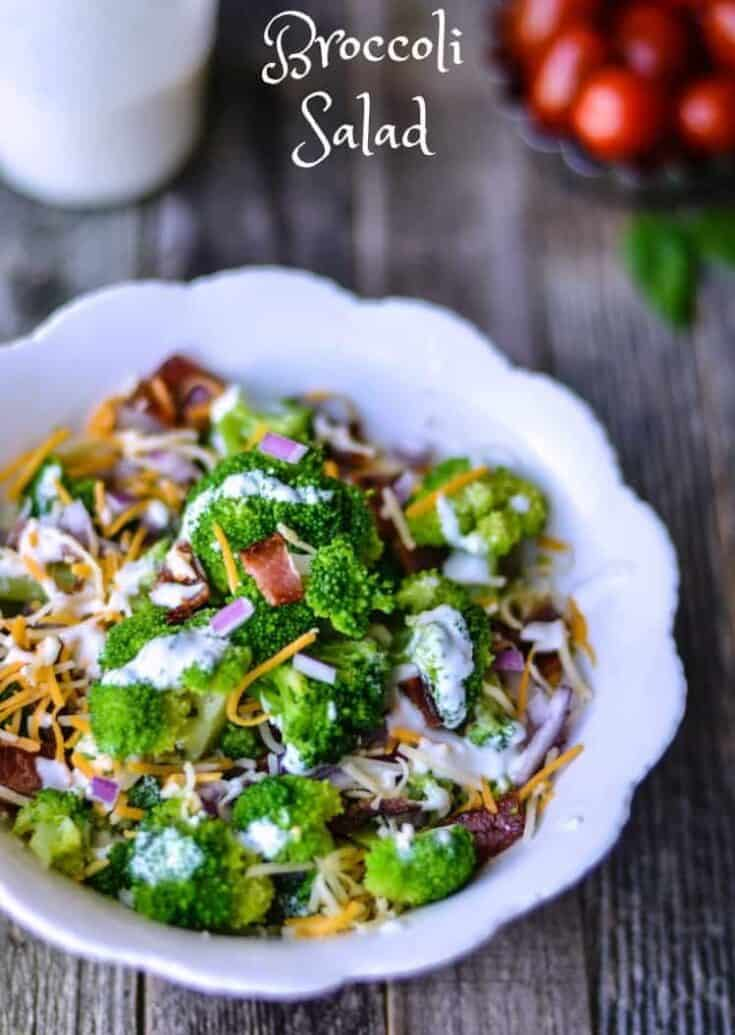Broccoli Salad Recipe on the Light Side