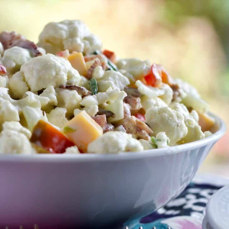 Cauliflower Pepper Salad Recipe