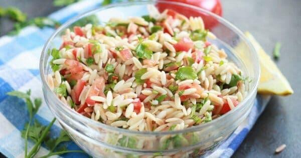 Easy Summer Orzo Salad