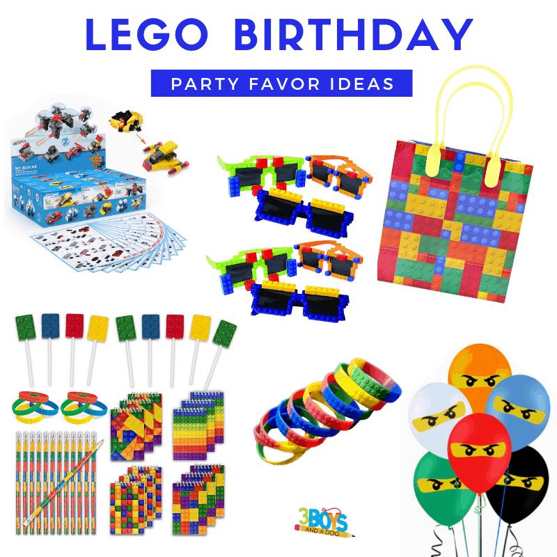 best LEGO party favors