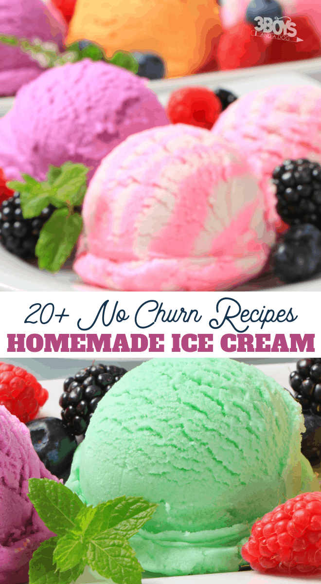 these 20 no churn ice cream recipes are perfect for summer
