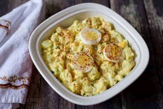 Pressure Cooker (Instant Pot) Potato Salad