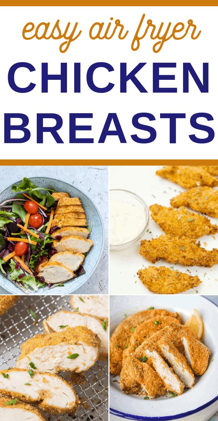 air fryer boneless chicken breast recipes