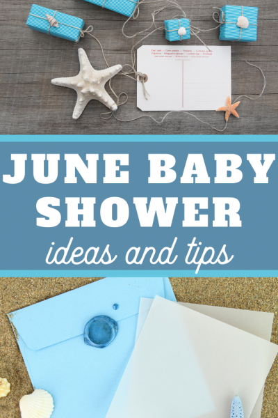 June baby shower tips and ideas