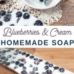 blueberry soap recipe