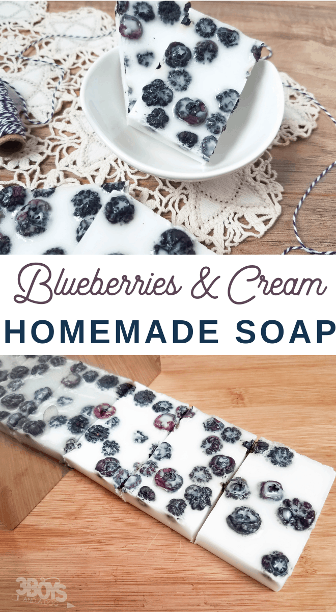 blueberry soap recipe