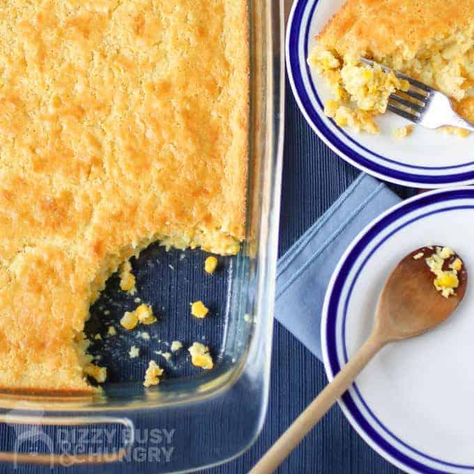 Cornbread Casserole: Super Easy Potluck Idea