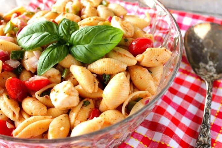 Italian Shell Pasta Salad