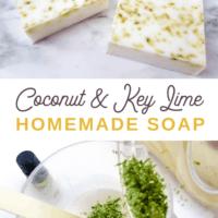 Coconut Lime Soap Recipe