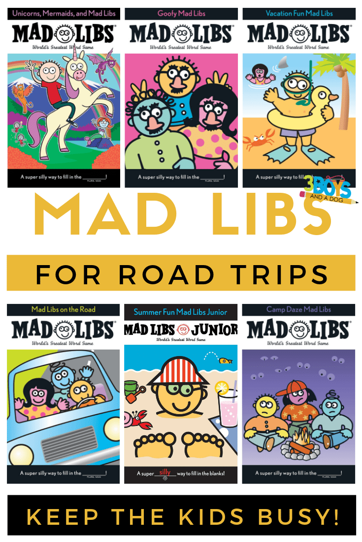 8 best mad lib books for kids