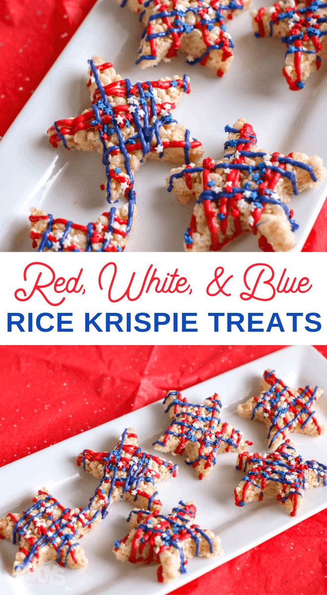 Rice Krispie Treat Stars for 4th of July