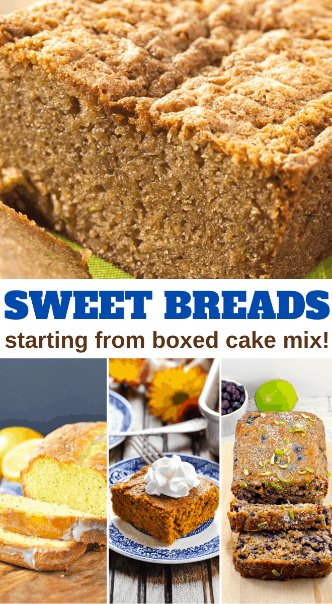 delicious sweet bread recipes from boxed cake mix