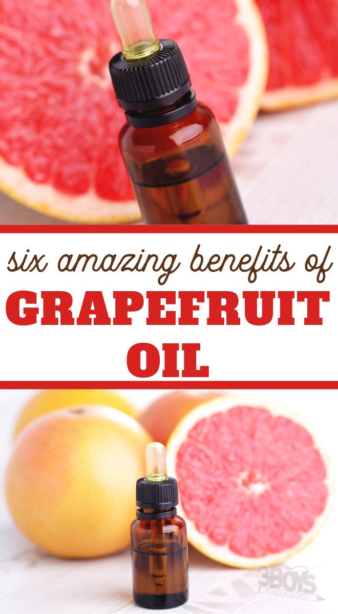 6 benefits of grapefruit oil