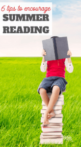why you should encourage your children to read in the summer and how to do it