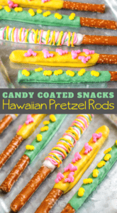 Hawaiian Pretzel Rods Recipe