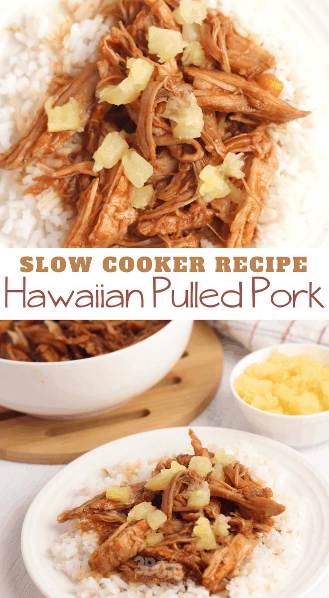 Slow Cooker Hawaiian Pork and Rice Recipe