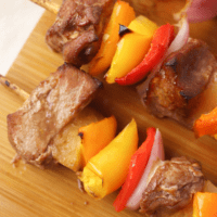 Hawaiian Pork Kabobs