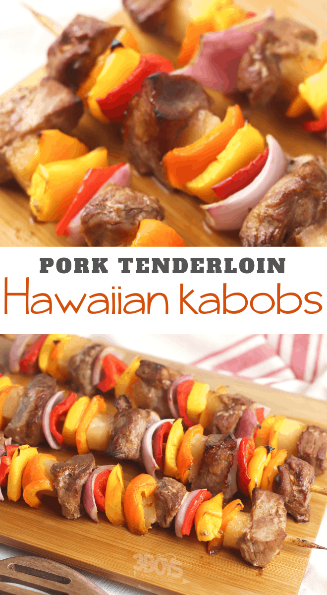 Easy Hawaiian Pork Kabobs Recipe