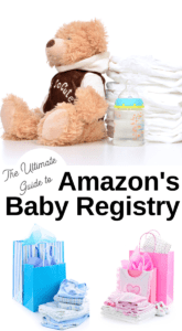 Amazon online baby registry tips and faqs
