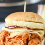 Hawaiian Chicken Sliders recipe in the pressure cooker