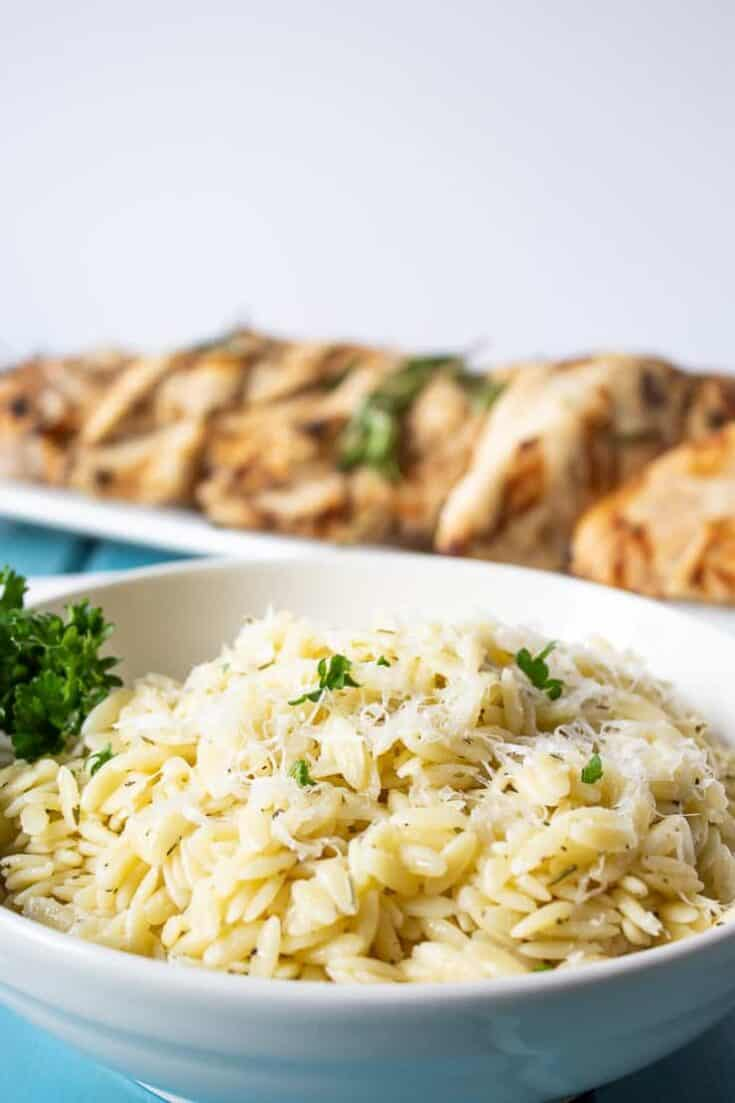 Orzo Pasta, Side Dish