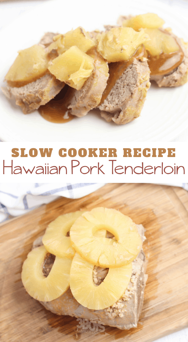 Hawaiian Pork Tenderloin Recipe