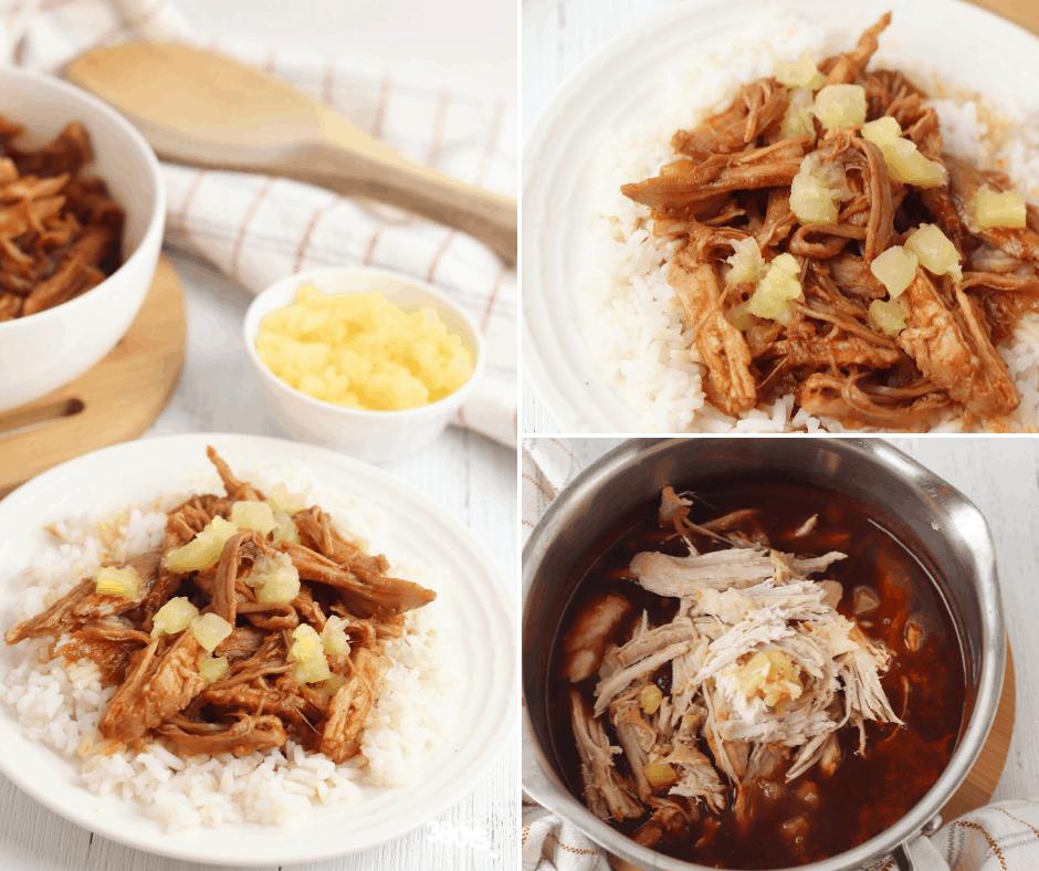 Hawaiian Pulled Pork and Rice Recipe