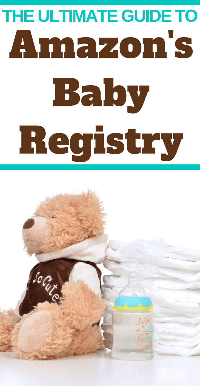 How and Why to Use the Amazon baby Registry