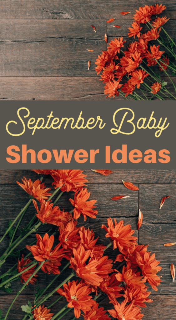fabulous fall themed baby shower and more September ideas