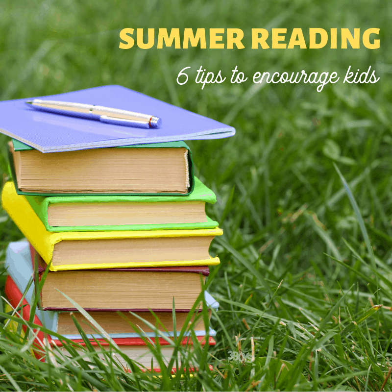 6 tips to encourage summer reading