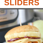 Instant Pot Hawaiian Chicken Sliders Recipe