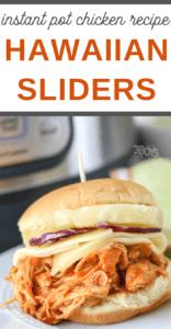 Instant Pot Hawaiian Chicken Sliders Recipe