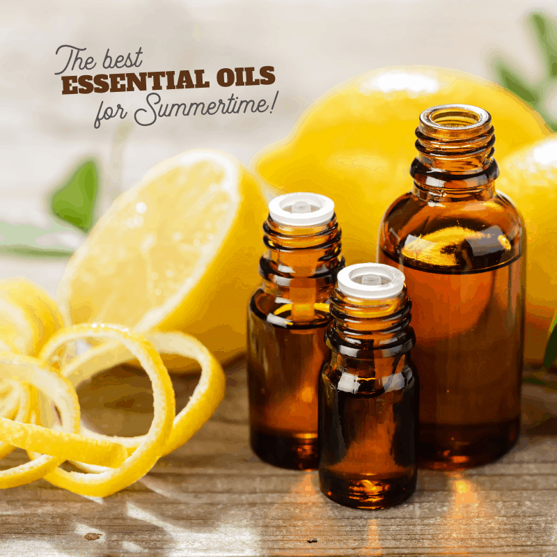 the best essential oils for summertime