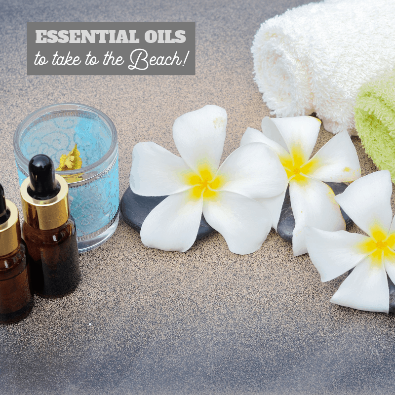 heal bug bites, sunburns, sand scratches with this list of essential oils to take to the beach