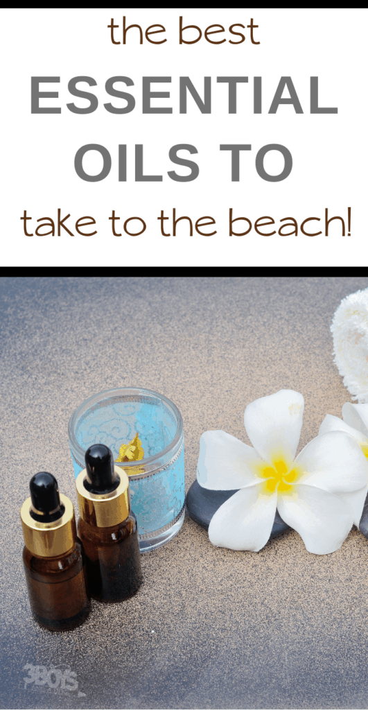 what essentials oils to take to the beach with you