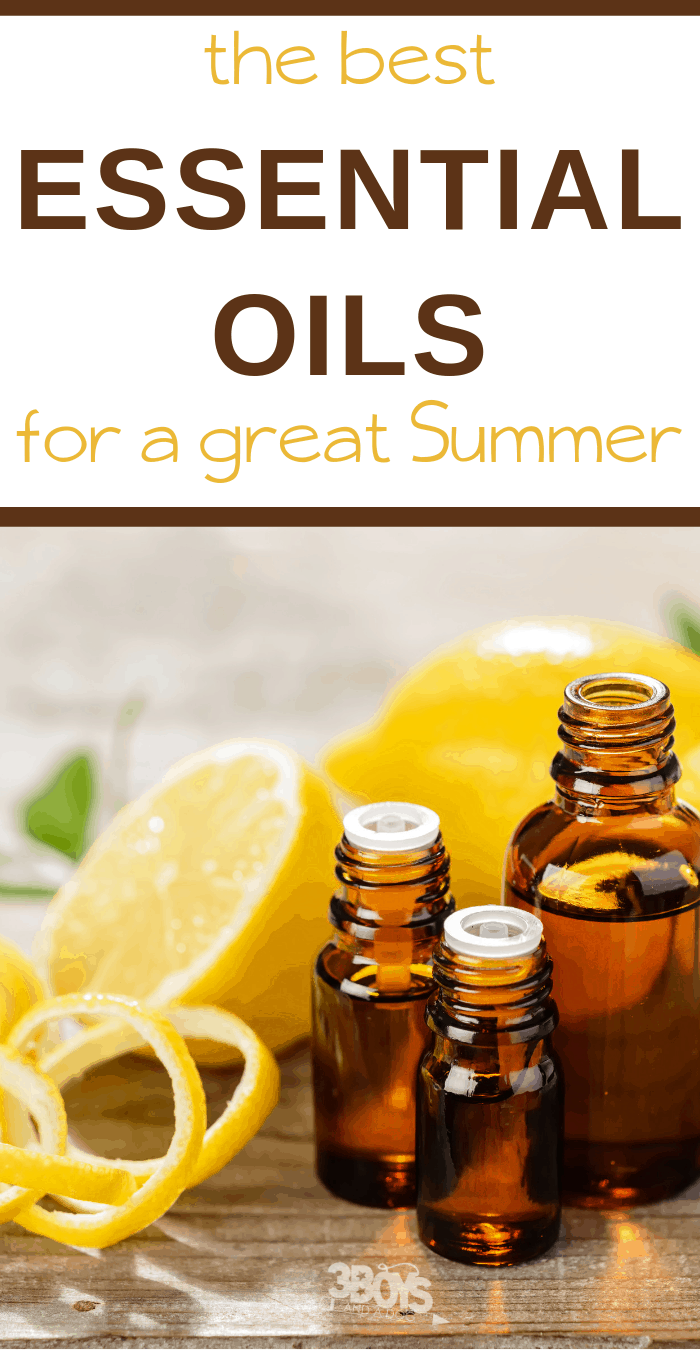 heal bug bites, sunburns, sand scratches with this list of essential oils for the perfect summer
