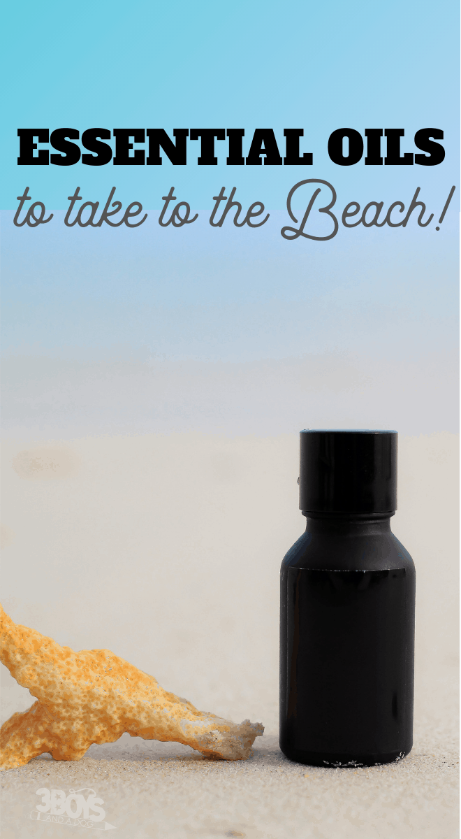 the best essential oils to take to the beach