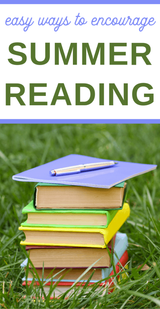 easy ways to encourage your children to summer reading