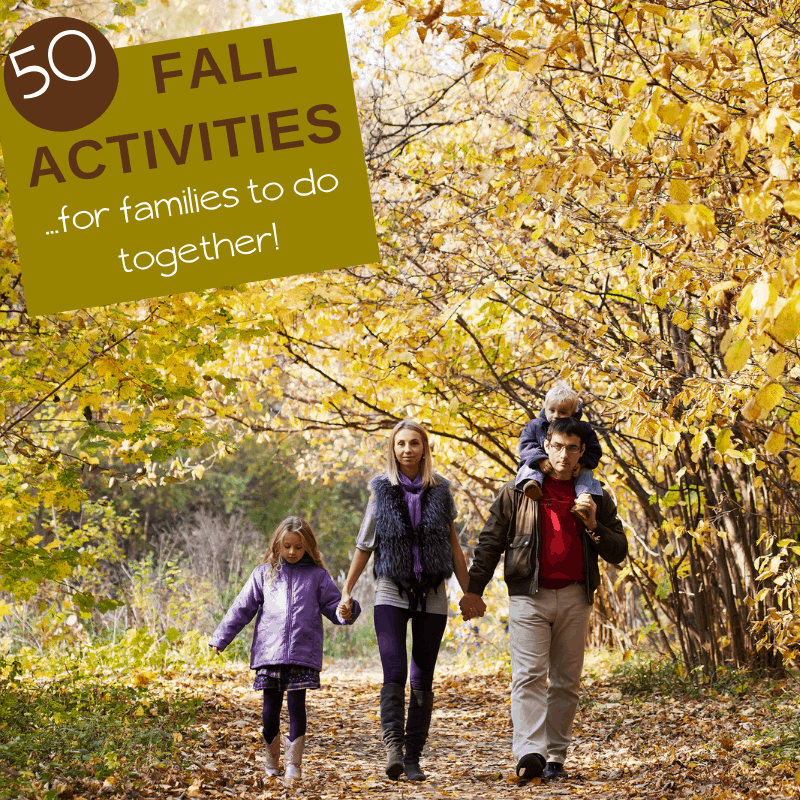 50 fall activities for families and kids