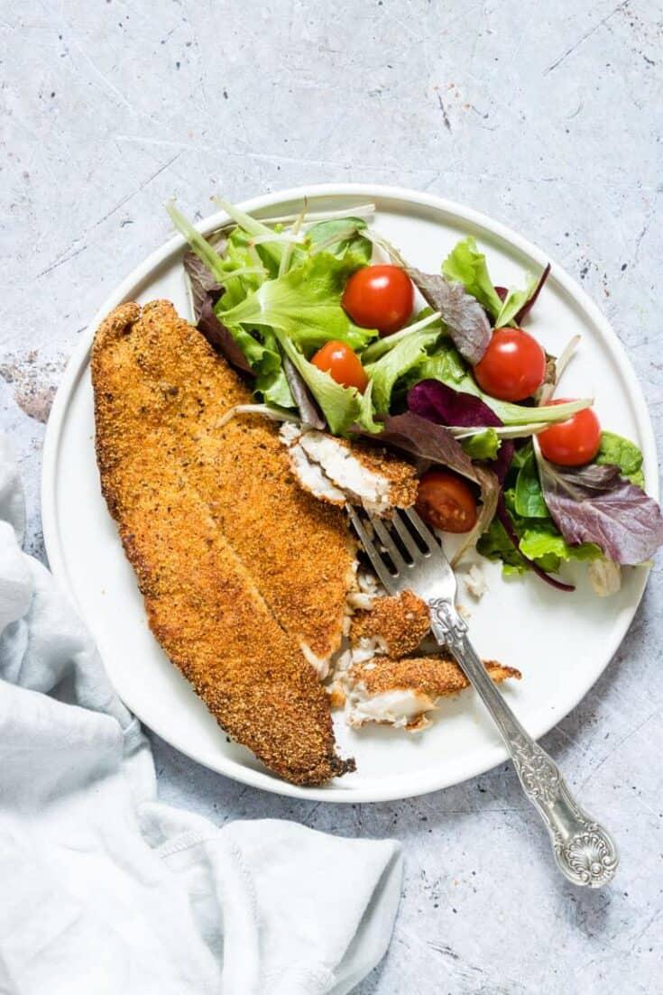 Best Crispy Golden Air Fryer Fish