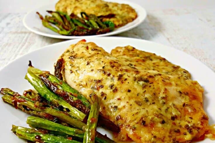 Baked or Broiled Tilapia Parmesan Recipe