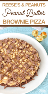 peanuts milk chocolate brownies and more combine to create this delicious dessert