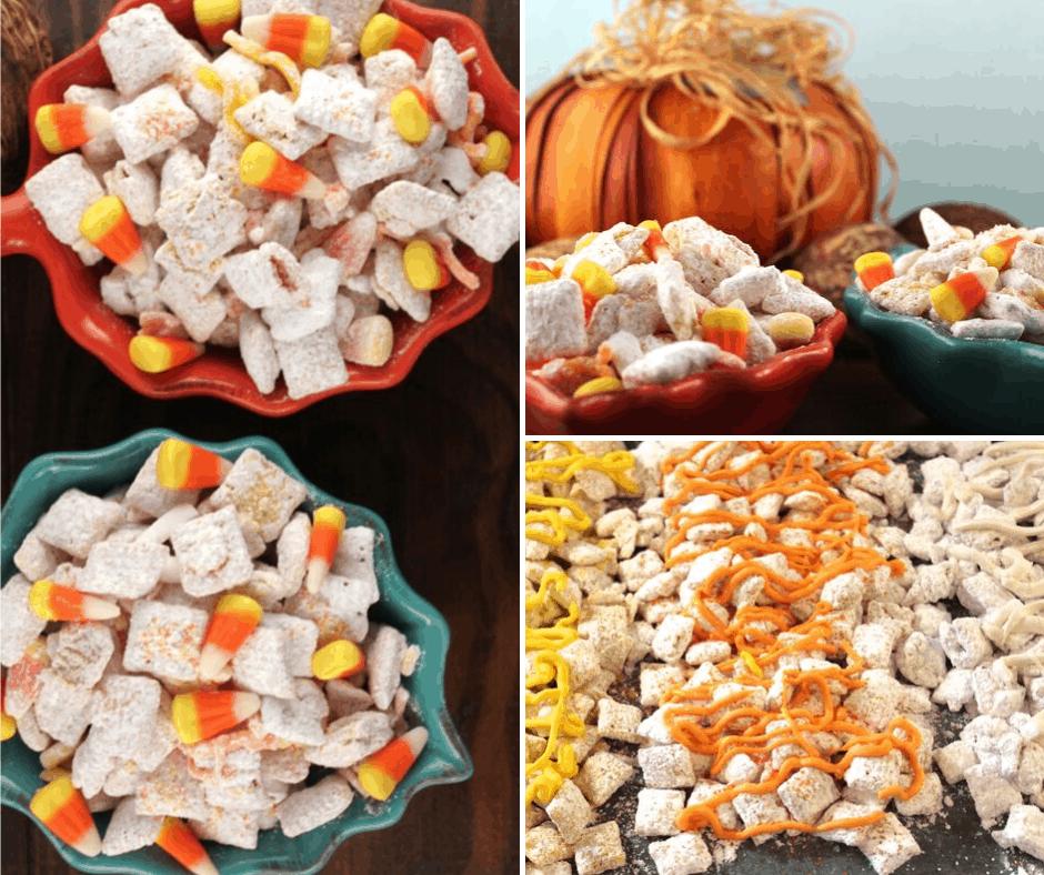 Candy Corn Chex Mix Recipe