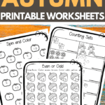 Autumn Worksheets for Lower Elementary School